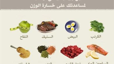 افضل الاطعمة لخسارة الوزن