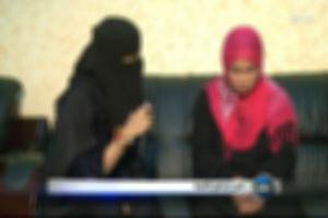 قاتلة الطفلة تالا في لقاء التلفزيون السعودي