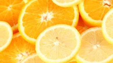 ليمون وبرتقال