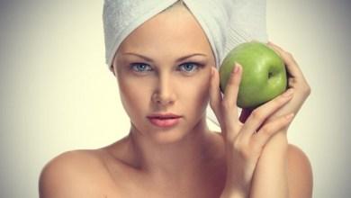ماسك التفاح للبشرة الدهنية