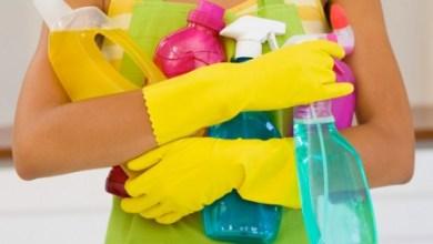 مواد التنظيف