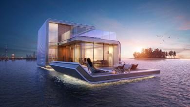 لمحبي البحار.. فلل عائمة فوق البحر في دبي!