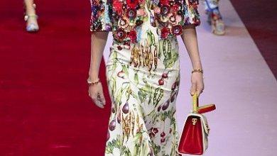أزياء دولتشي أند جابانا لربيع – صيف 2018