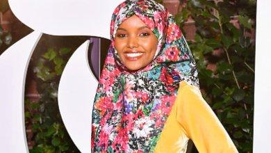 عارضة الأزياء الأمريكيةحليمة آدن من أصول صومالية تلفت الأنظار بحجابها