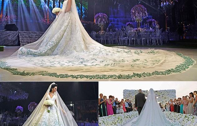 عام 2017 حيث أضخم حفلات الزفاف وأفخمها شاهدي معنا أشهرها