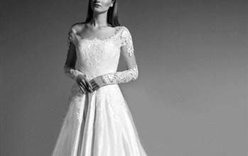 جورج شقرا المصمم اللبناني بمجموعته الجديدة لشتاء 2018 يبدع في اطلالة العروس