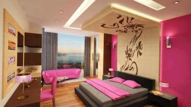 اجمل تصاميم غرف النوم الملونة