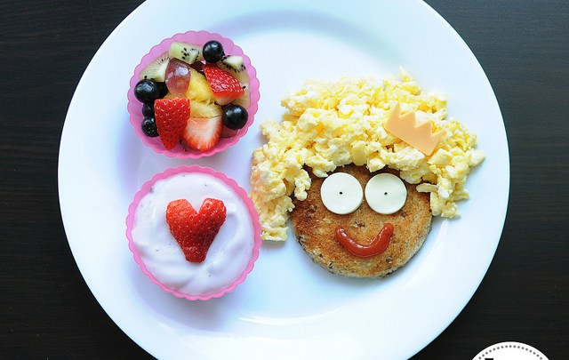 افكار مرحة لتقديم الطعام للأطفال