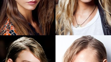 فرق الشعر من الجنب