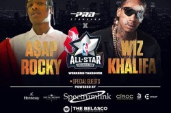 ASAP Rocky & Wiz Khalifa will be at The Belasco Theatre in Downtown LA.