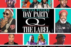QC the Label Day Party at OHM Nightclub in Hollywood.