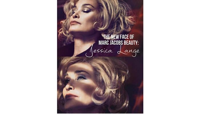 Jessica Lange (1949)  para Marc Jacobs Beauty, 2014. Foto: David Sims