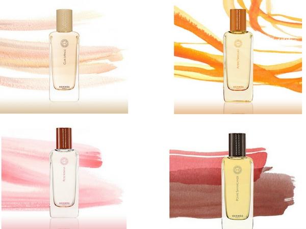 Colección de perfumes Hermessence de la casa Hermès