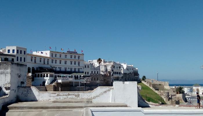 Hotel Continental dentro de la Medina