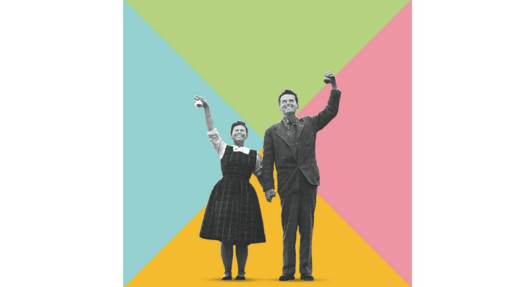 An Eames Celebration. Charles and Ray Eames. Photomontage Boros_Berlin ©Eames Office LLC