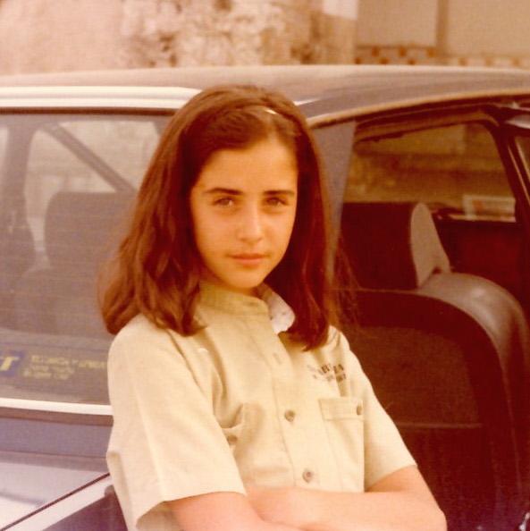 Constanza González en los 70 ©Constanza González