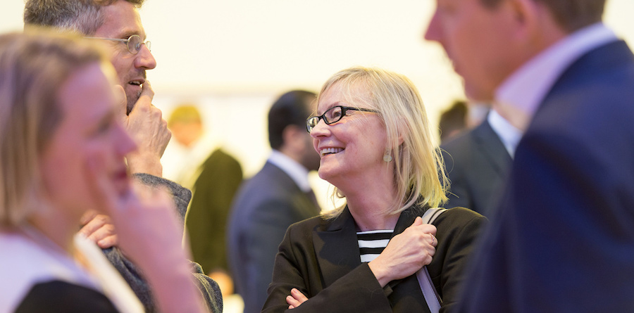 Encuentros entre conferencias. Copyright by World Economic Forum / Sandra Blaser
