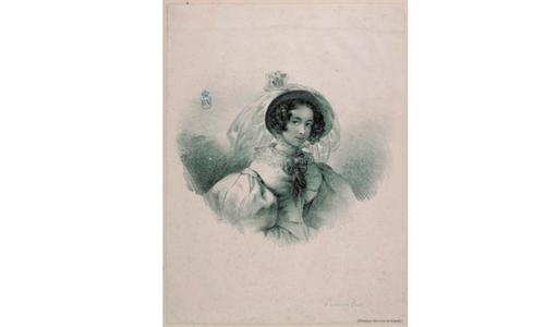 Rosario Weiss y Zorrilla, autorretrato. BNE.