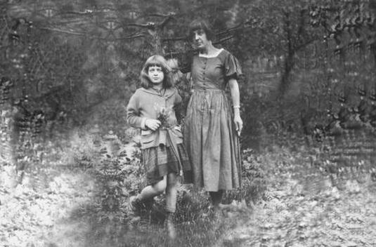 Marina Tsvetayeva y su hija