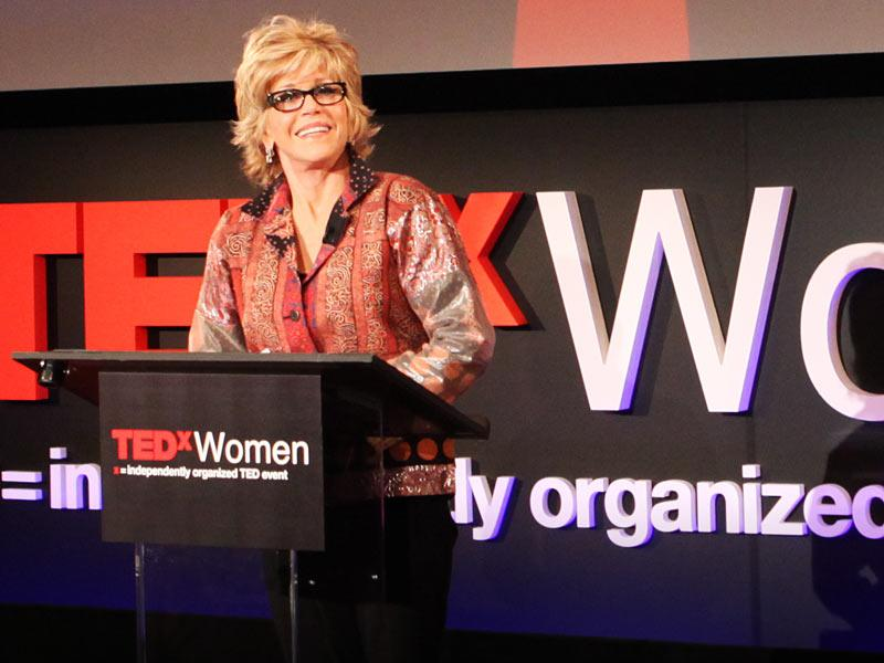 Jane Fonda en TEDxWomen, 2011