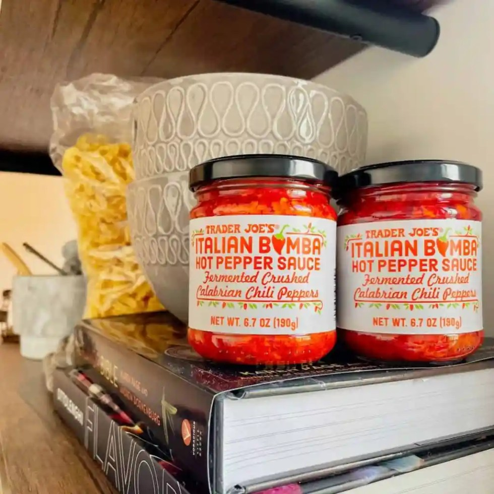Jar of Calabrian Chili Peppers