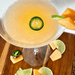 Spicy Cantaloupe Martini