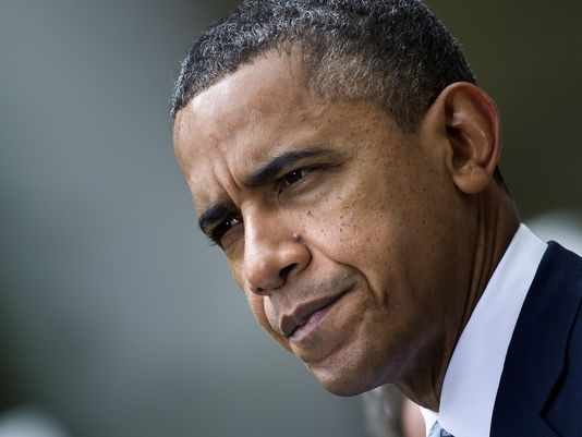 Calm Obama