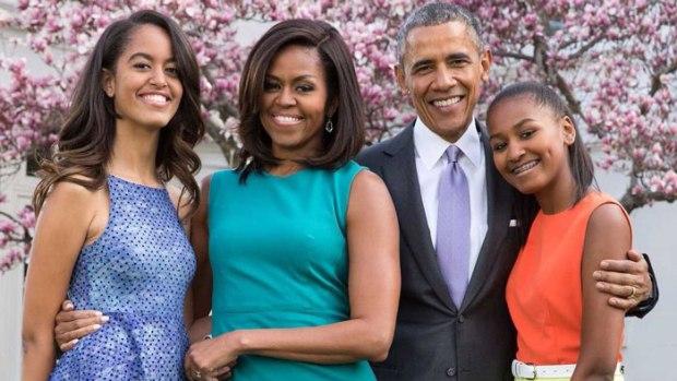 Obama's-family