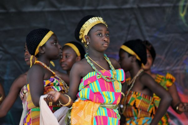 The Diversity and composition of Kente Cloth
