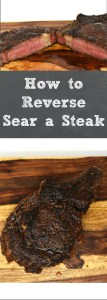How to Reverse Sear a Steak Pin