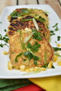 Corn and Jalapeno Hoe Cakes