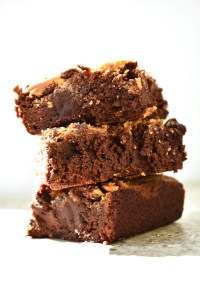 White Chocolate Peanut Butter Brownies