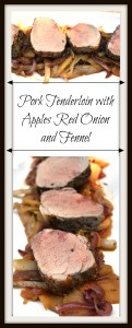 Pork Tenderloin with Apples Red Onion and Fennel Pin