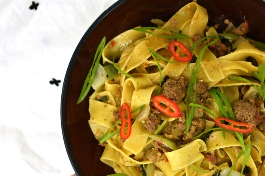 Spicy Cumin Lamb Noodles On The Eaten Path