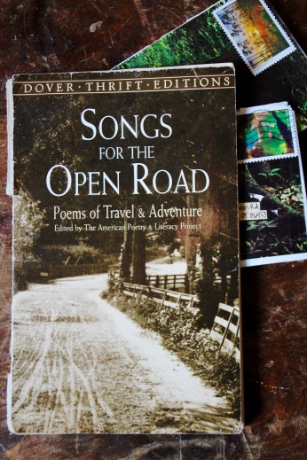 A Book of Poetry of Travel & Adventure that he Included.