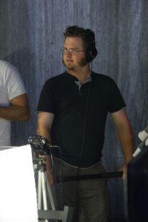 Darren Lodwick recording live audio.