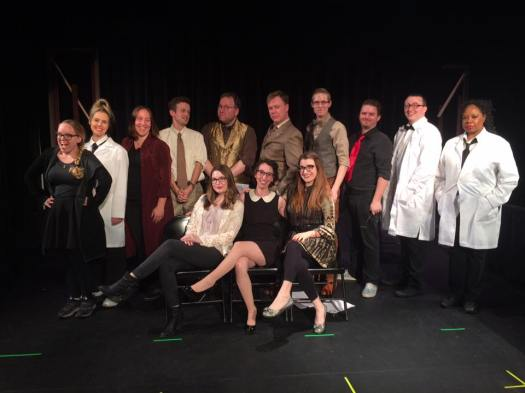 The full cast and crew of EARBUD THEATER: INVASION