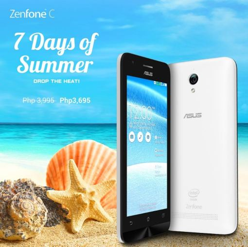 7 Days of Summer - ZenFone C