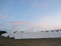 Competitor Tents