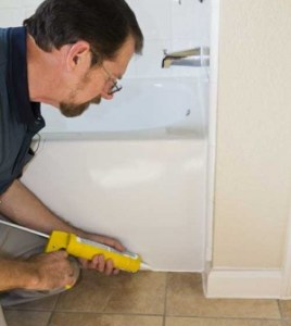 Caulking A Shower Or Tub   On the House caulking tub