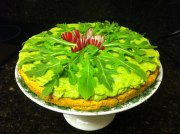 Raw food Dill-icious Tarte On the Lime