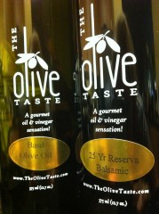 The Olive Taste, On the Lime-Raw Foods