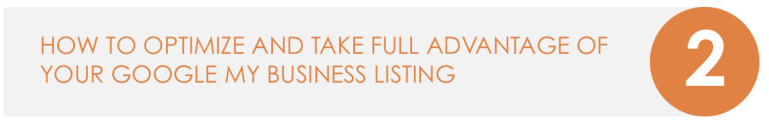 Optimize your Google Business Listing