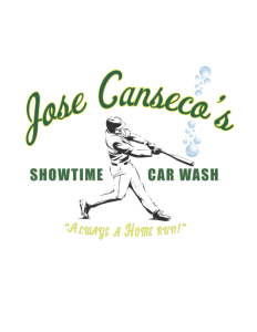 Jose Canseco's Showtime Car Wash Logo