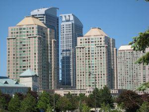 Skyline of Scarborough City Centre
