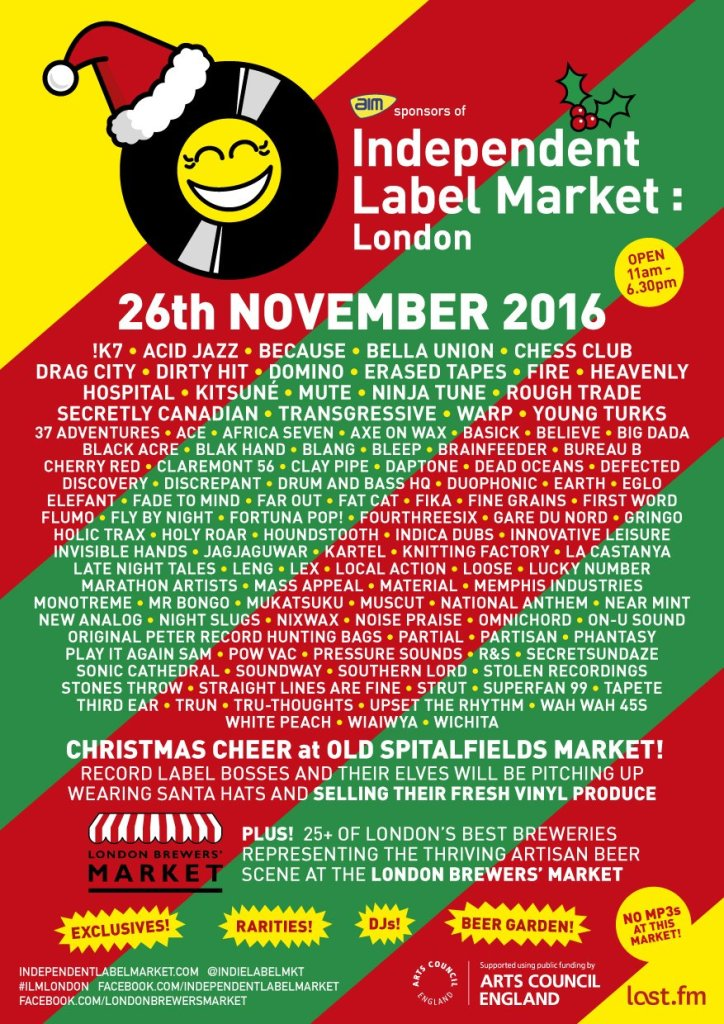 Independent Label Market - 2016-full-line-up