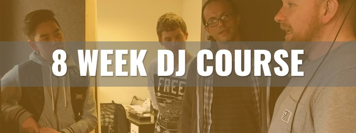 8 Week DJ Courses at On The Rise DJ Academy