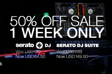 50% off Serato DJ or the Serato DJ Suite