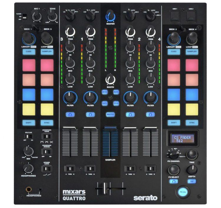Mixars Quattro Four-Channel Mixer
