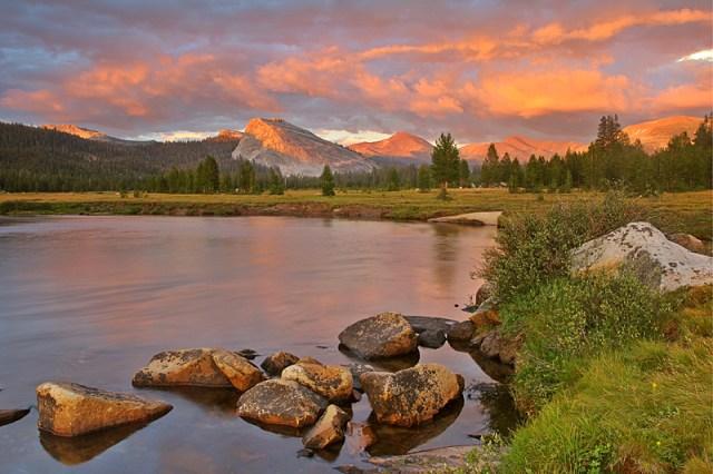 4-11 - Tuolumn meadows at sunset